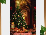 PRINTED Christmas PHOTOGRAPHY BACKGROUND AND FLOOR DROP BACKDROP COMBO COMBO110 BOTH ITEMS