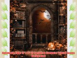 Halloween Night 10' x 10' CP Backdrop Computer Printed Scenic Background