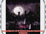 Haunted Night 10' x 10' CP Backdrop Computer Printed Scenic Background