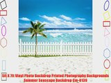 5ft X 7ft Vinyl Photo Backdrop Printed Photography Backgrounds Summer Seascape Backdrop Cm-0139