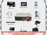 EUG 760 Mini Multimedia HD LCD Image System Home LED Digital Projector 1080P Cinema Theater