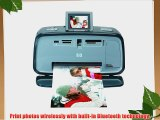 HP A618 Photosmart Compact Photo Printer with Built-in Wireless Bluetooth Technology