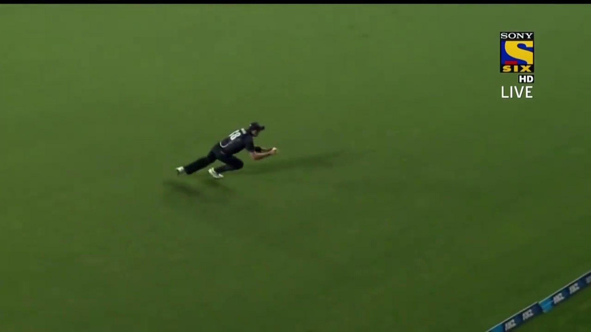 This fielder can catch bullet hits like this   Great catch