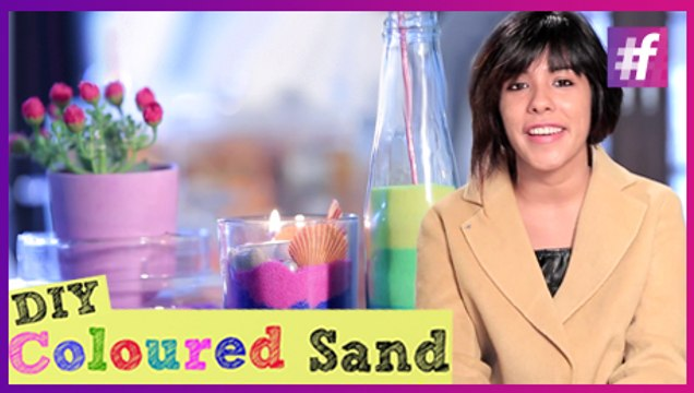 How to Make Coloured Sand at Home | Easy DIY