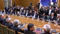 Erstes Treffen der neuen griechischen Regierung