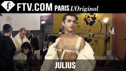 Julius Men Backstage | Paris Men's Fashion Week Fall/Winter 2015-16 | FashionTV