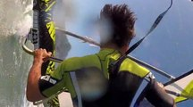 Windsurf : un forward loop en caméra embarquée