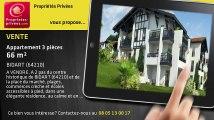 A vendre - appartement - BIDART (64210) - 3 pièces - 66m²