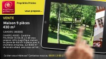 A vendre - maison - CAHORS (46000) - 9 pièces - 430m²