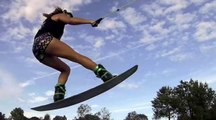 Marion Haerty : session wakeboard