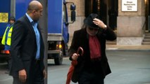 Gary Glitter arrives at court