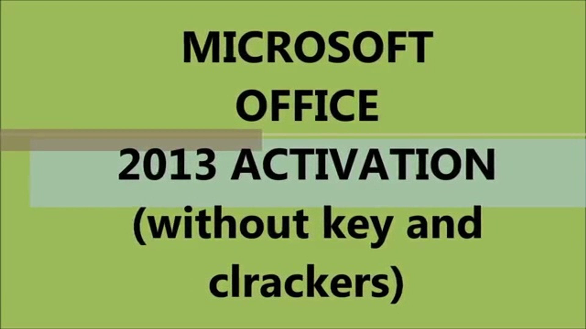 office home and student 2007 activation crack