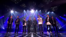 Stereo Kicks sing Jason Mraz's I Won't Give Up (Sing Off)   Live Results Wk 8   The X Factor UK 2014
