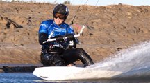 La vidéo du record du monde de vitesse de kitesurf par Alexandre Caizergues