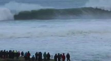Big wave surfing à Mullaghmore en Irlande