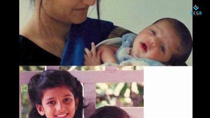 Shruti Haasan Childhood and Rare Pics : Birthday Special Video