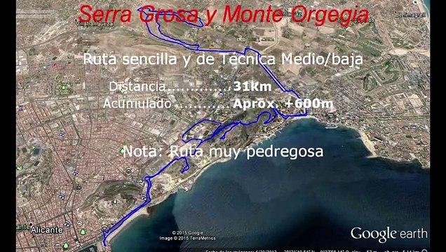 Rutas Urbanas de BTT - Alicante
