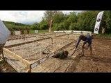 Adrénaline Shots : passage de l'obstacle de The Mud Day Paris du 10 mai 2014 de 17h15 à 17h29