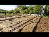 Adrénaline Shots : passage de l'obstacle de The Mud Day Paris du 11 mai 2014 de 17h15 à 17h30