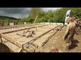 Adrénaline Shots : passage de l'obstacle de The Mud Day Paris du 11 mai 2014 de 14h30 à 14h45