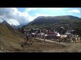Le frontflip final d'Anthony Messere lors de sa victoire sur le slopestyle des 2 Alpes