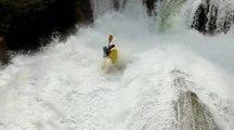 Les plus grosses chutes de kayak extrême