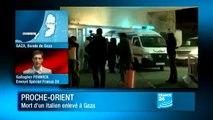 Gaza un militant italien enleve et tue par des salafistes Le Nouvel Observateur