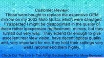MOTORCYCLE CHROME CUSTOM REARVIEW SIDE MIRRORS 10MM ADAPTER MOUNT FOR HONDA SHADOW REBEL 250 NIGHTHAWK VT VTX 1300 1800 CB 500 550 600 650 750 900 1000 CRUISER Review