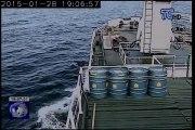 Buque de carga 'La Floreana' encalló en las Islas Galápagos