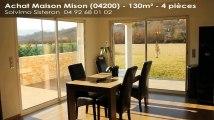 A vendre - maison - Mison (04200) - 4 pièces - 130m²