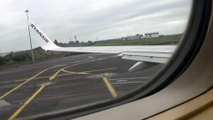 Ryanair flight from knock airport ireland to london stansted airpot  united kingdom (1)