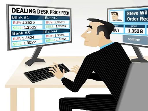 The dealing desk