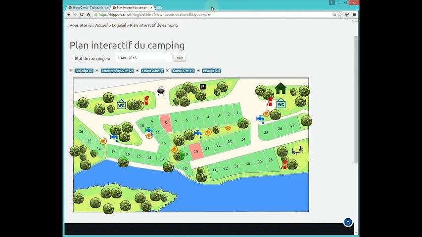 Tuto Hippocamp - Facturer un séjour - Logiciel de gestion camping