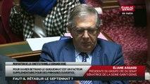 PPLC - Rétablir à sept ans la durée du mandat du Président de la République - En séance