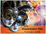 Mardi Gras PowerPoint Template - templates for powerpoint