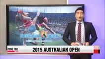 Williams and Sharapova advance to Australian Open women's singles finals
