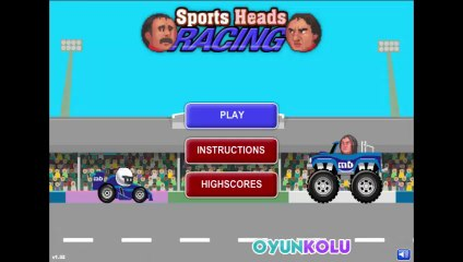 Sporcu Kafalar Araba Yarışı Oyununun Tanıtım Videosu