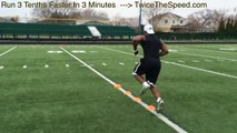 How To Run Faster Speed And Agility Drills For Football Players