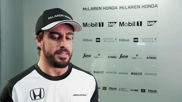 FERNANDO ALONSO - McLaren-Honda MP4-30 Car Launch 2015