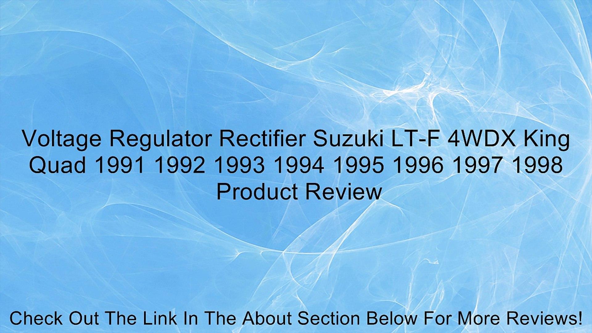 Starter Relay Solenoid Suzuki LT-4WD Quadrunner 1993 1994 1995 1996 1997 1998