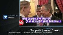 """Zapping TV : le coup de gueule de Marion Maréchal-Le Pen devant les caméras du """"Petit Journal"""""""