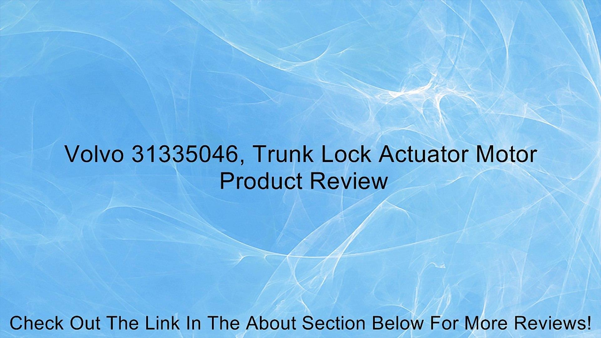 Toyota 69690-35030 Trunk Lock Actuator Motor
