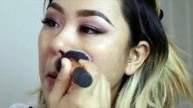 Winged Smokey Pink Eye Shadow GLAM Makeup Tutorial