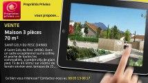 A vendre - maison - SAINT GELY DU FESC (34980) - 3 pièces - 70m²