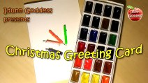 Handmade Christmas and New Year Card - Easy Greeting Card for Christmas in 5 minutes