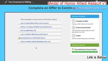 Medal of Honor Allied Assault v1.11 patch Key Gen [medal of honor allied assault v1.0 crack]