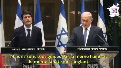 Netanyahou incite à la guerre mondiale contre l'Islam