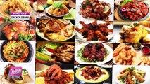 Chicken dishes with a Korean twist 한국의 맛을 살린 이색 치킨
