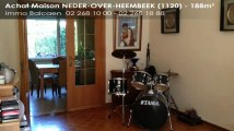 - Maison - NEDER-OVER-HEEMBEEK - 1120 - 188m²