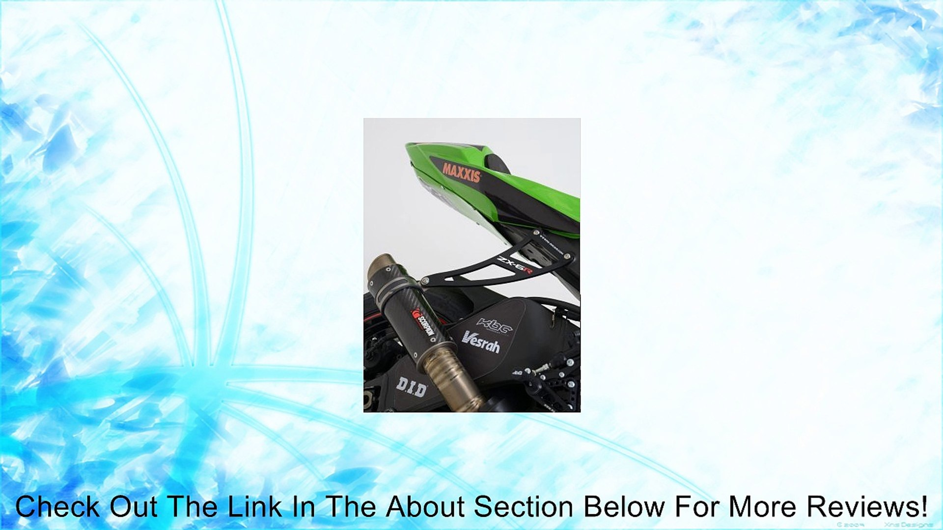 R/&G Racing Header Downpipe Grill Guard for Kawasaki ZX-6R 2013-2014 DG0013BK